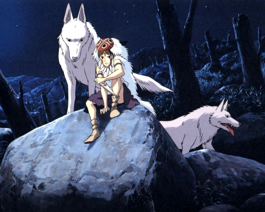 Wallpaper Mononoke princess