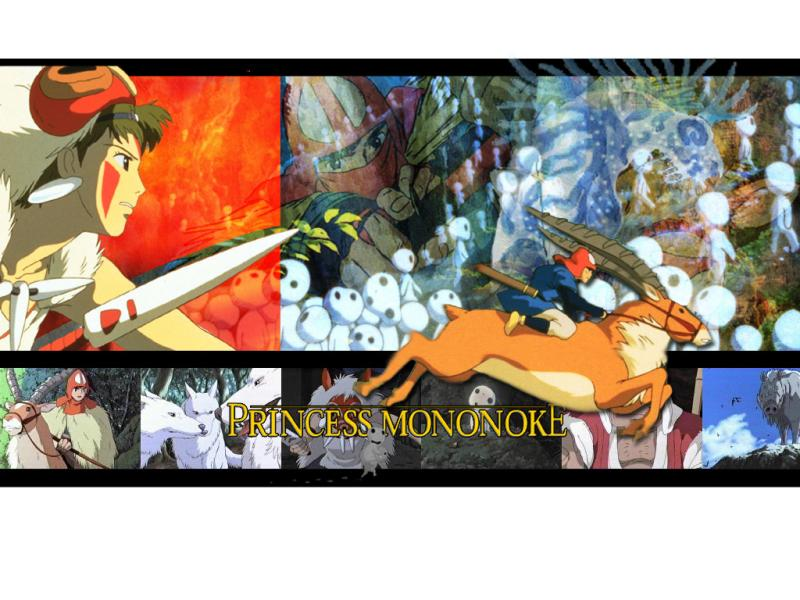 Wallpaper Ashitaka & princess Mononoke