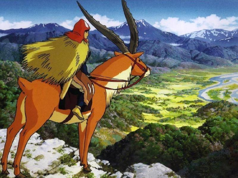 Wallpaper Mononoke Ashitaka