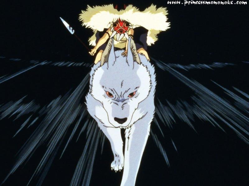 Wallpaper San Mononoke