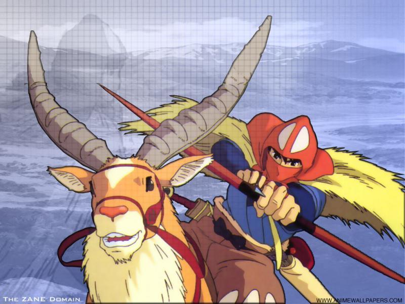 Wallpaper Mononoke ashitaka et yakubu
