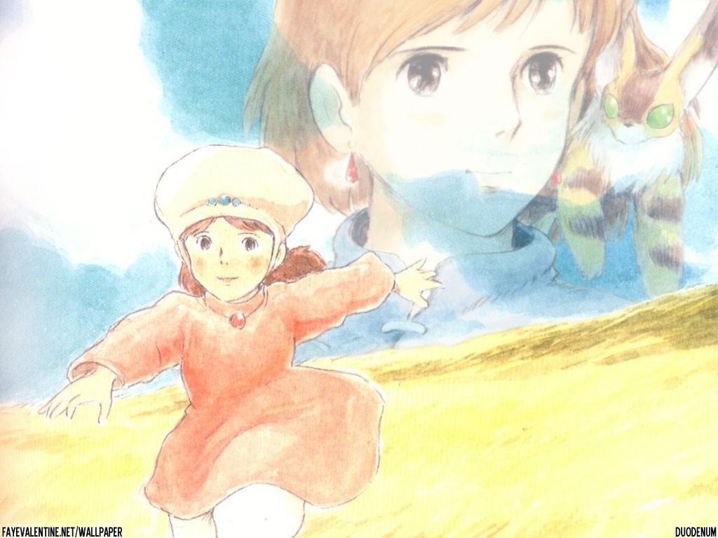 Wallpaper manga nausicaa Nausicaa