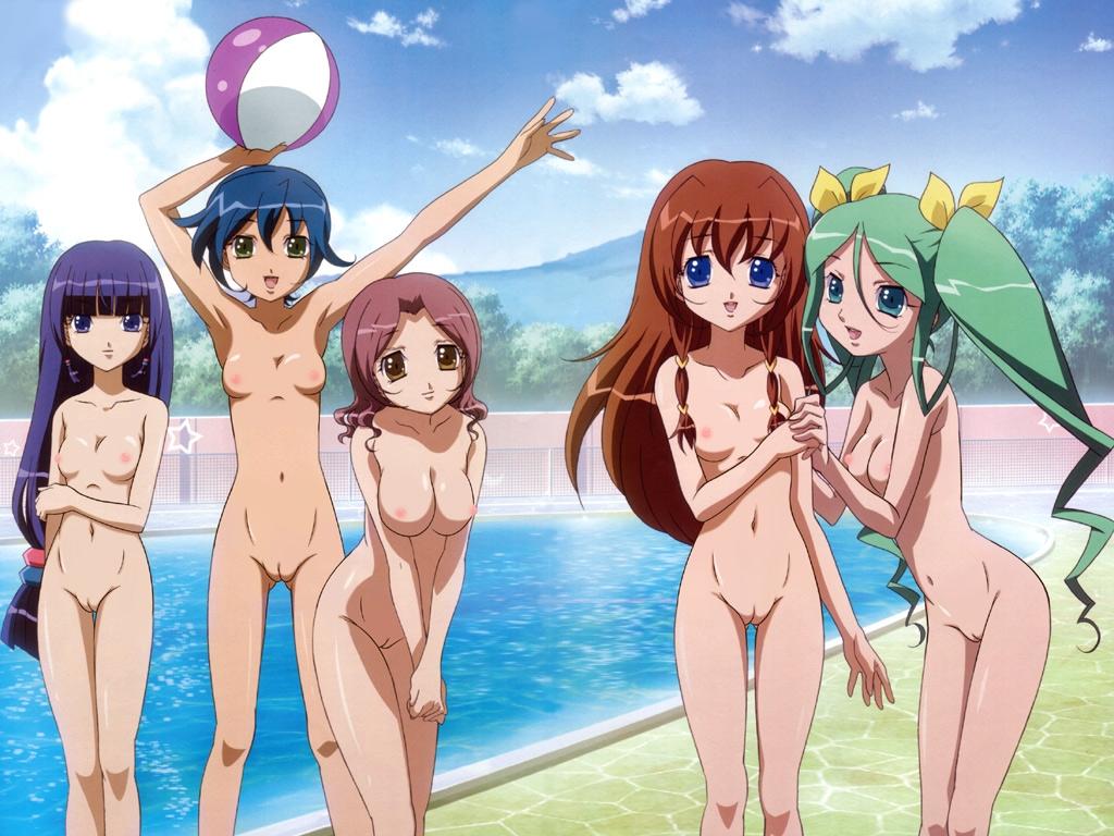 Wallpaper Soft jeunes filles nues