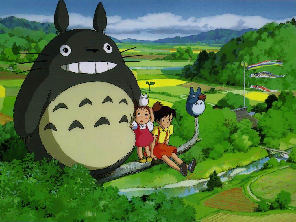 Wallpaper manga totoro Totoro