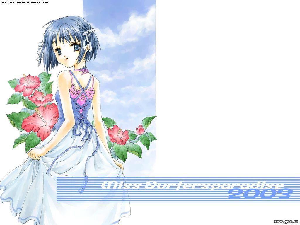 Wallpaper Miss Surfer tred belle fille