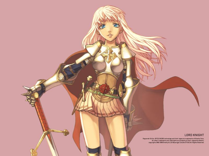 Wallpaper Ragnarok fille