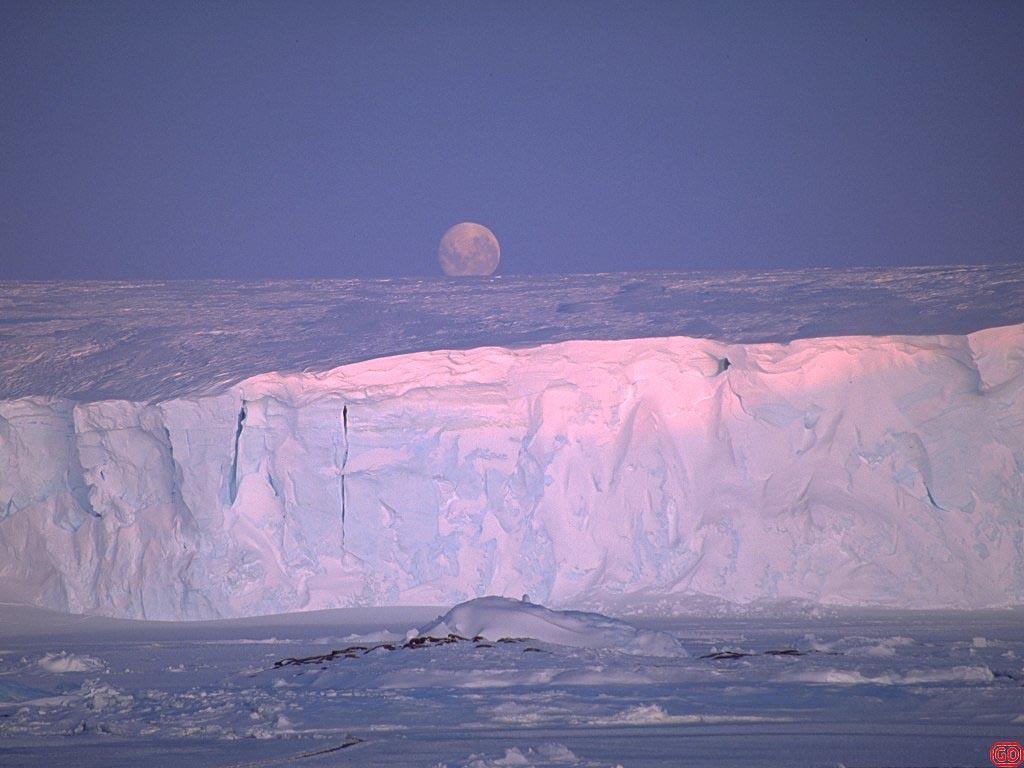 Wallpaper Paysages iceberg