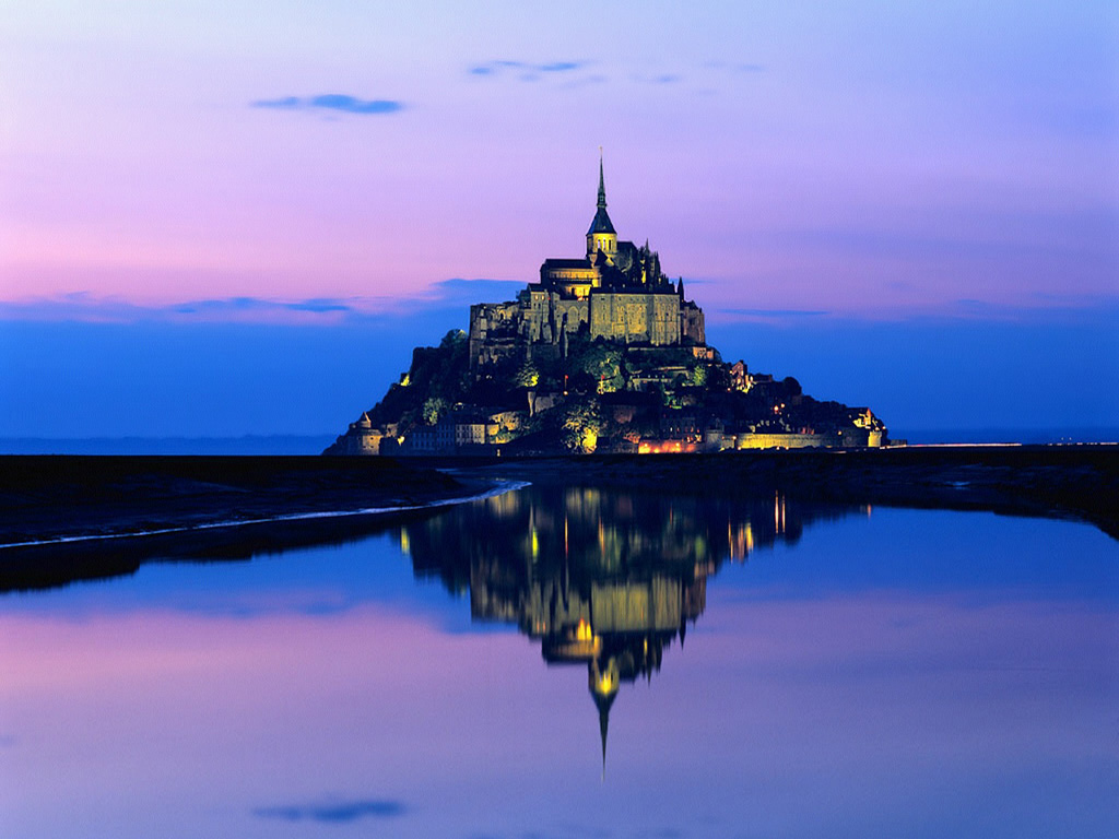 Wallpaper mont st michel Paysages