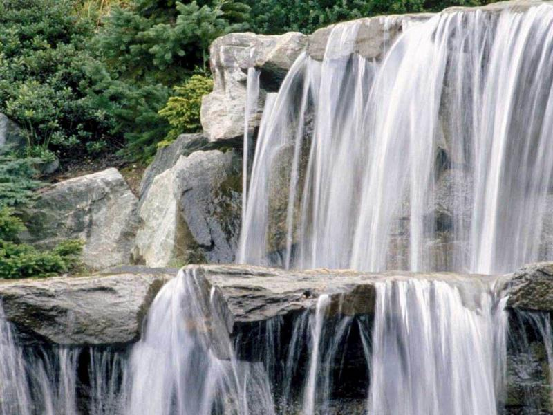 Wallpaper cascade Paysages