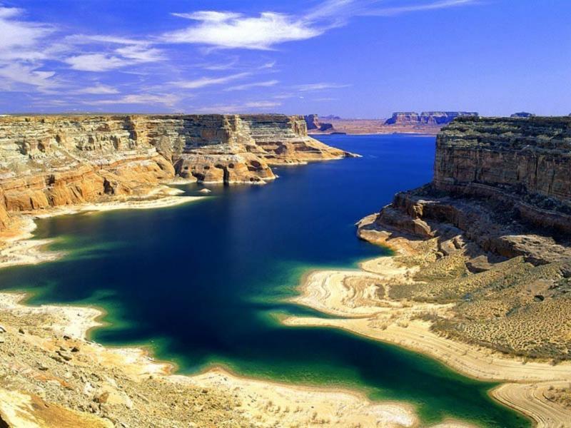 Wallpaper eau montagne ciel Paysages