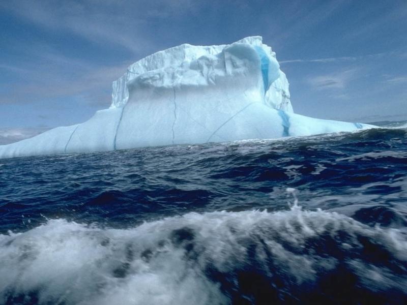 Wallpaper iceberg Paysages