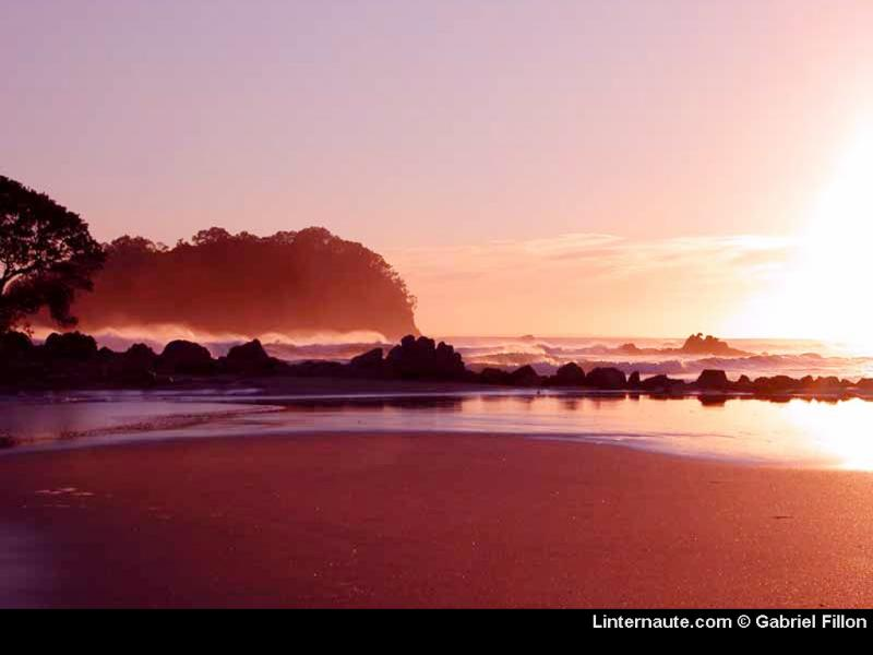 Wallpaper mnt monganui Paysages