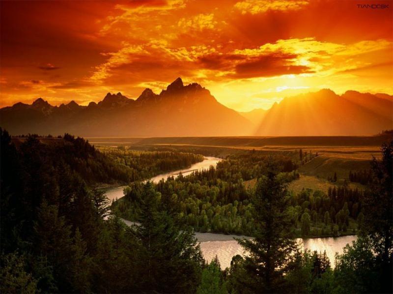 Wallpaper montagne Paysages