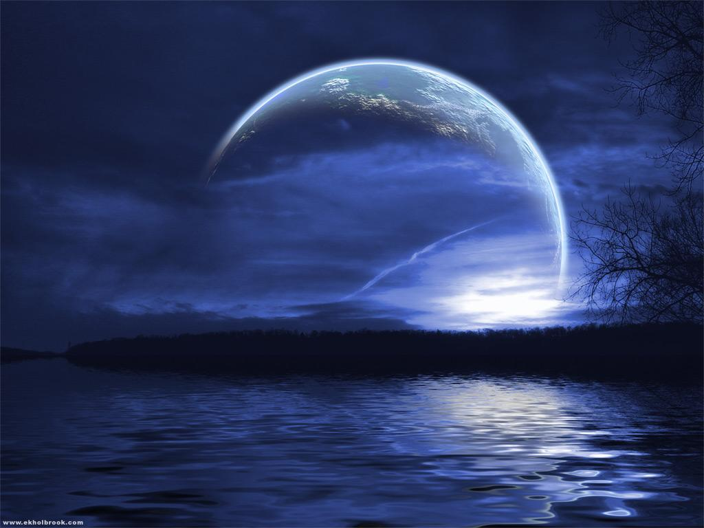 Wallpaper planete Paysages