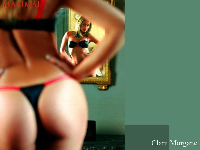 Wallpaper Clara Morgane string