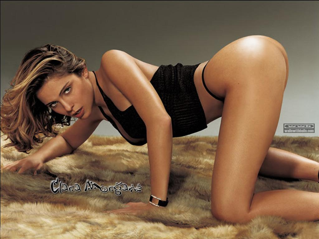 Wallpaper Hot Clara Morgane