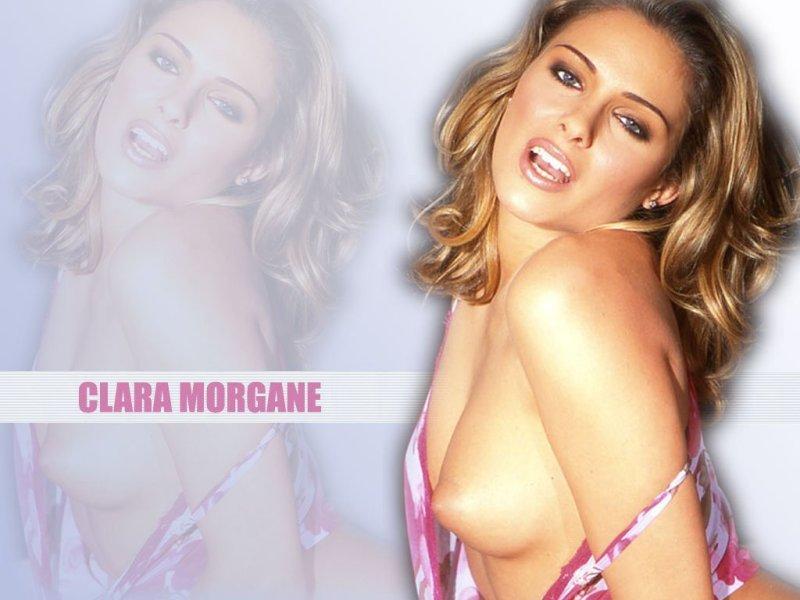 Wallpaper Hot Clara Morgane