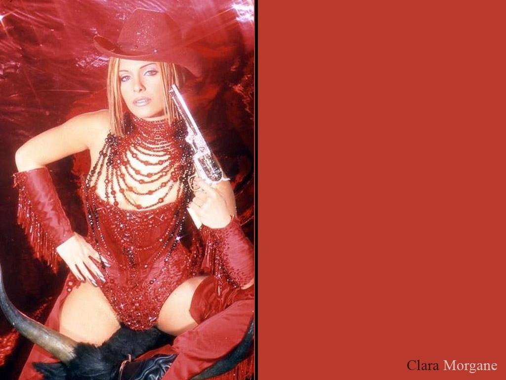 Wallpaper deguisement Clara Morgane