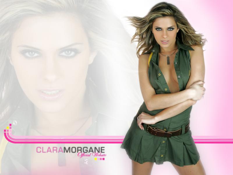 Wallpaper Clara Morgane sexy