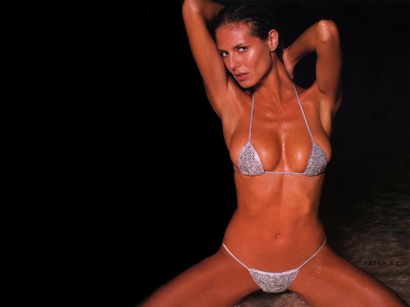 Wallpaper bikini Heidi Klum