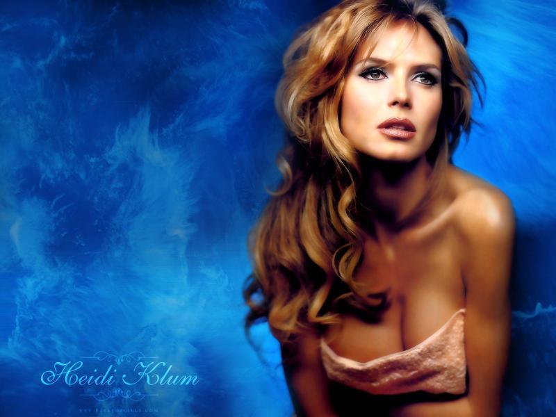 Wallpaper Heidi Klum sexy