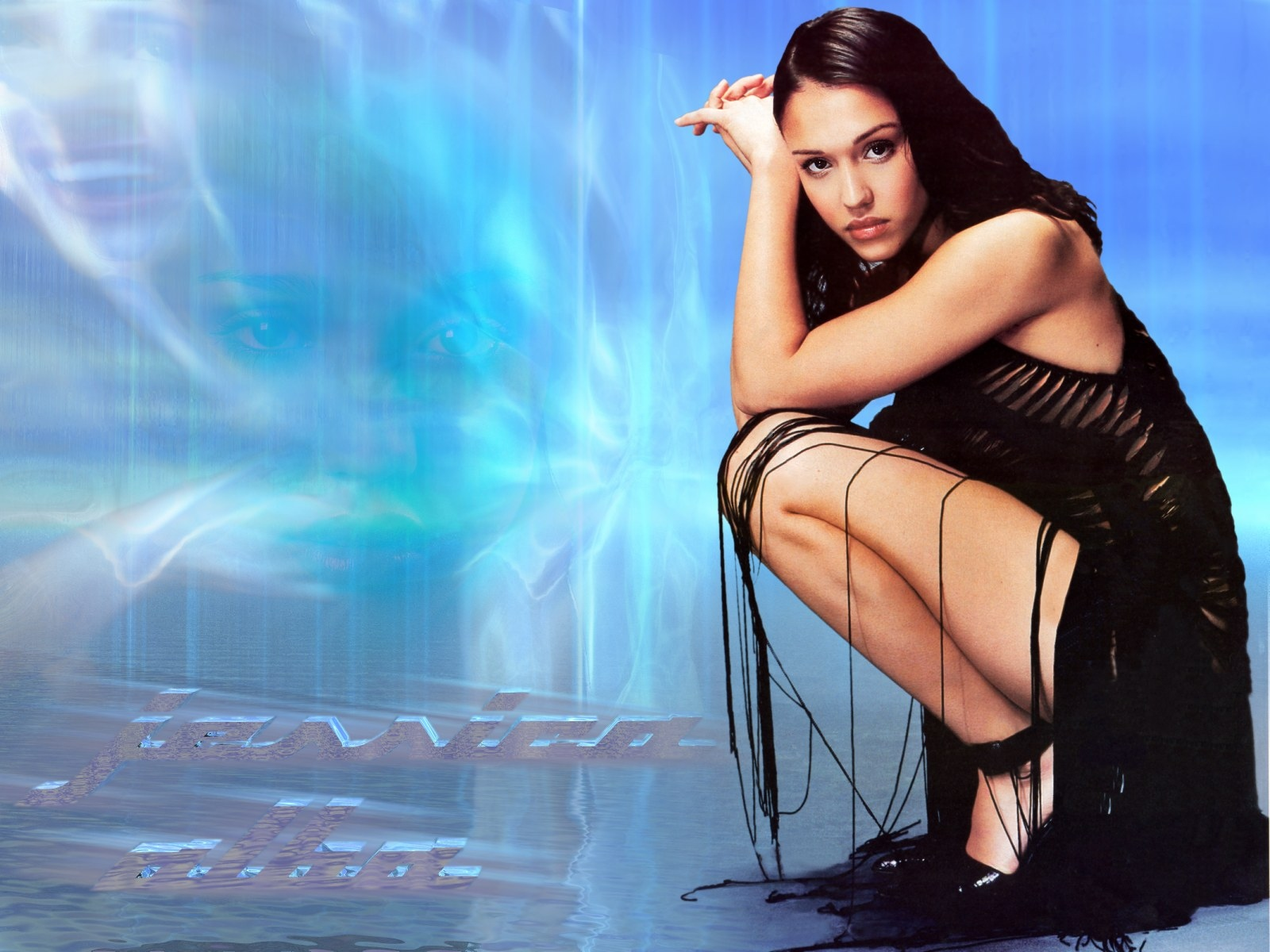 Wallpaper Jessica Alba Dark Angel