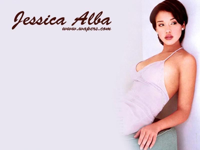 Wallpaper Jessica Alba Detente