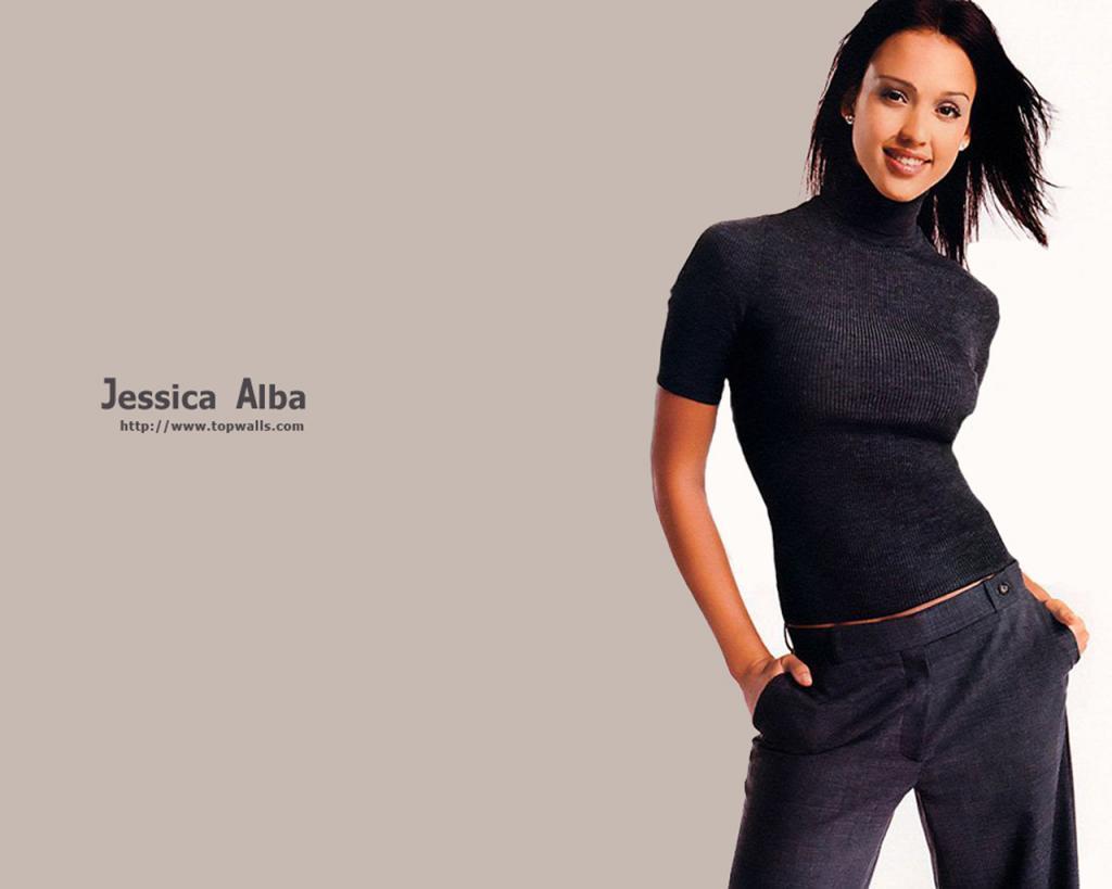 Wallpaper Jessica Alba belle femme