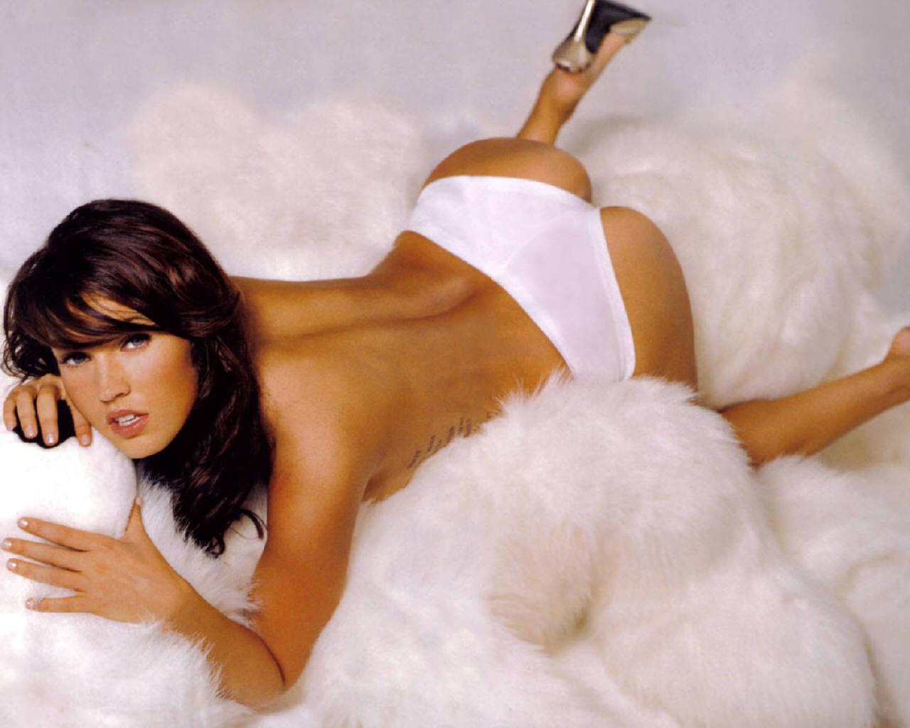 Wallpaper Megan Fox sexy Sexe & Charme