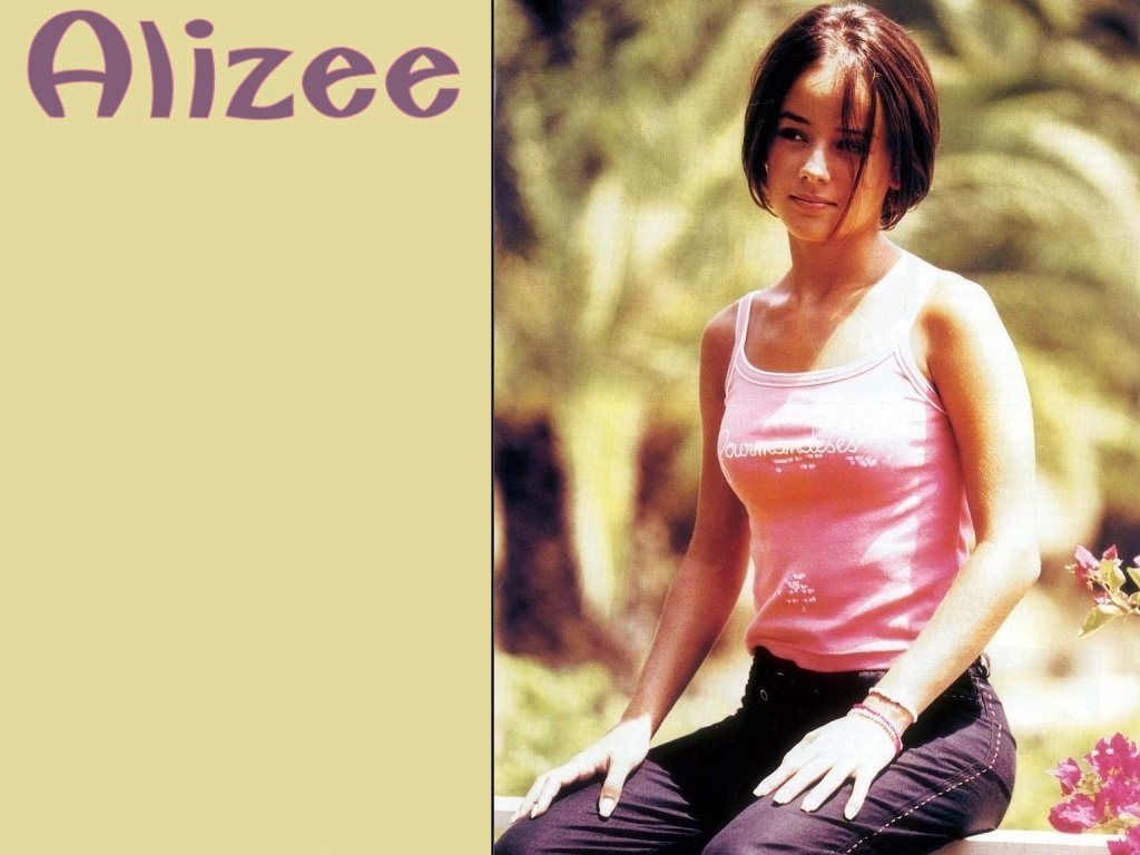 Wallpaper gourmandise Alizee