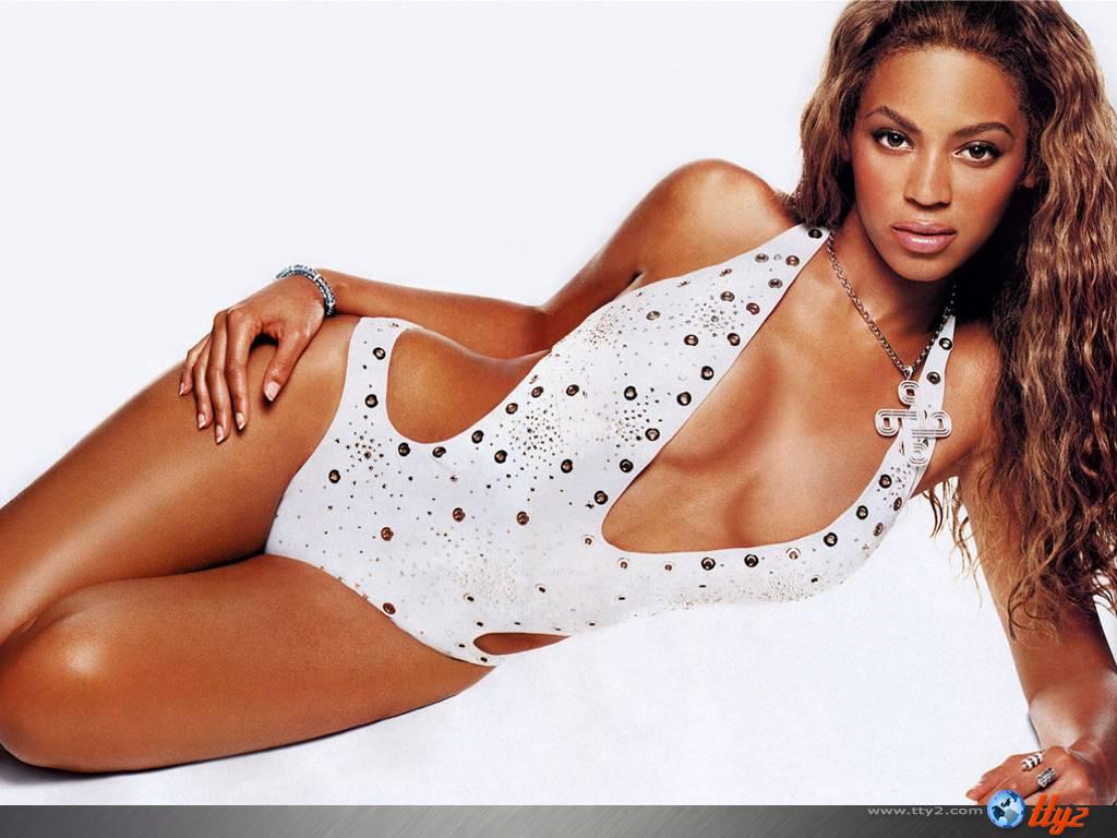 Wallpaper Beyonce tenue legere
