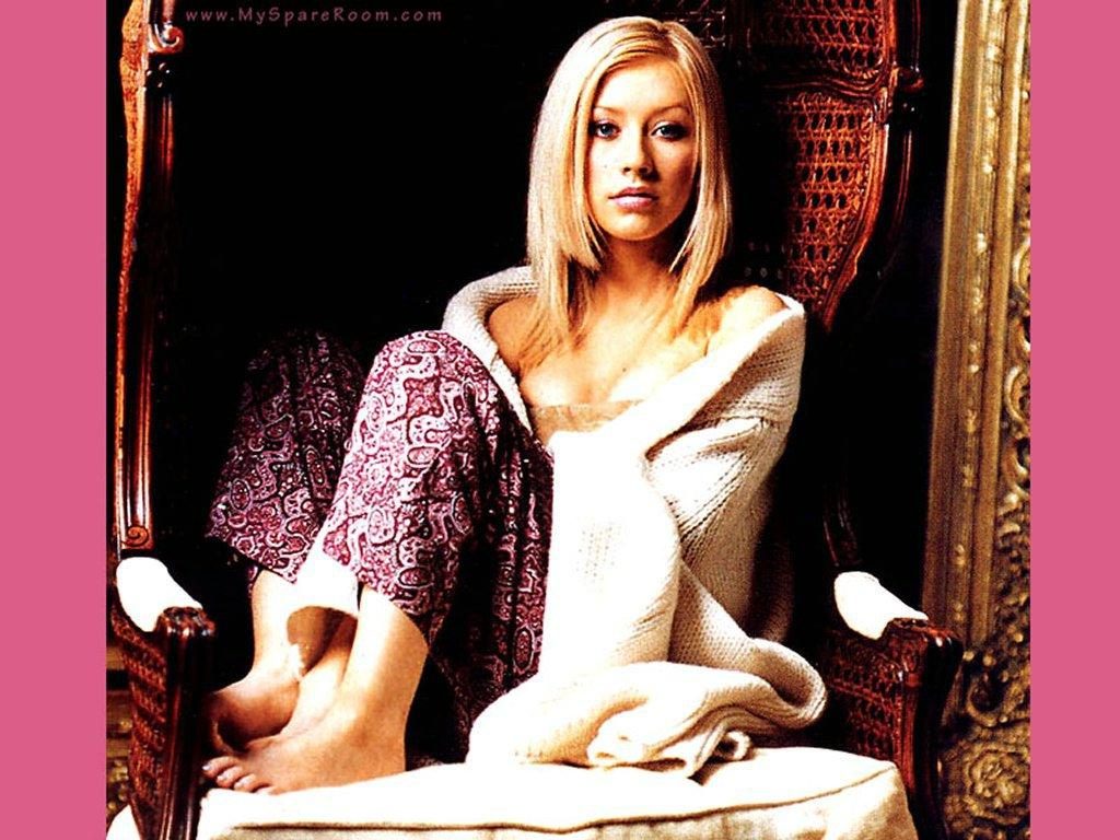 Wallpaper maison Christina Aguilera