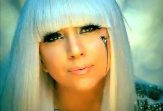 Wallpaper portait Lady Gaga