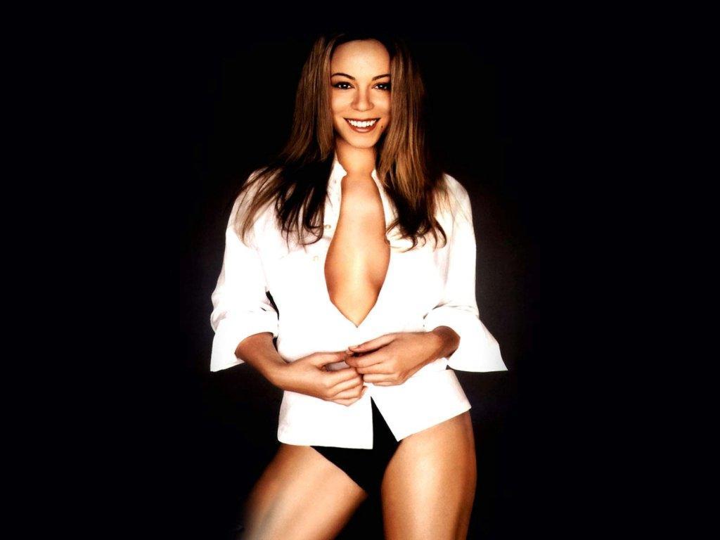 Wallpaper Mariah Carey chanteuse