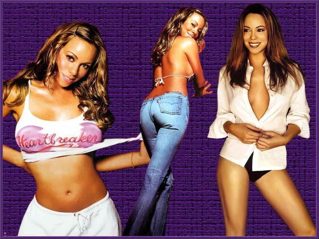 Wallpaper sexy Mariah Carey