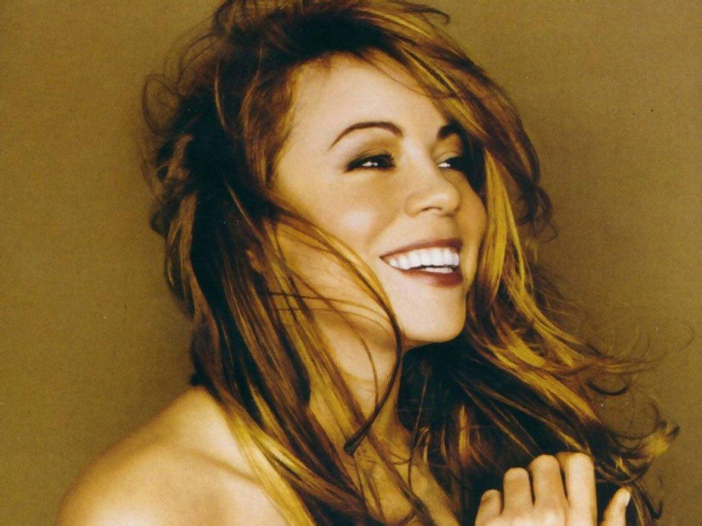 Wallpaper Mariah Carey belle fille