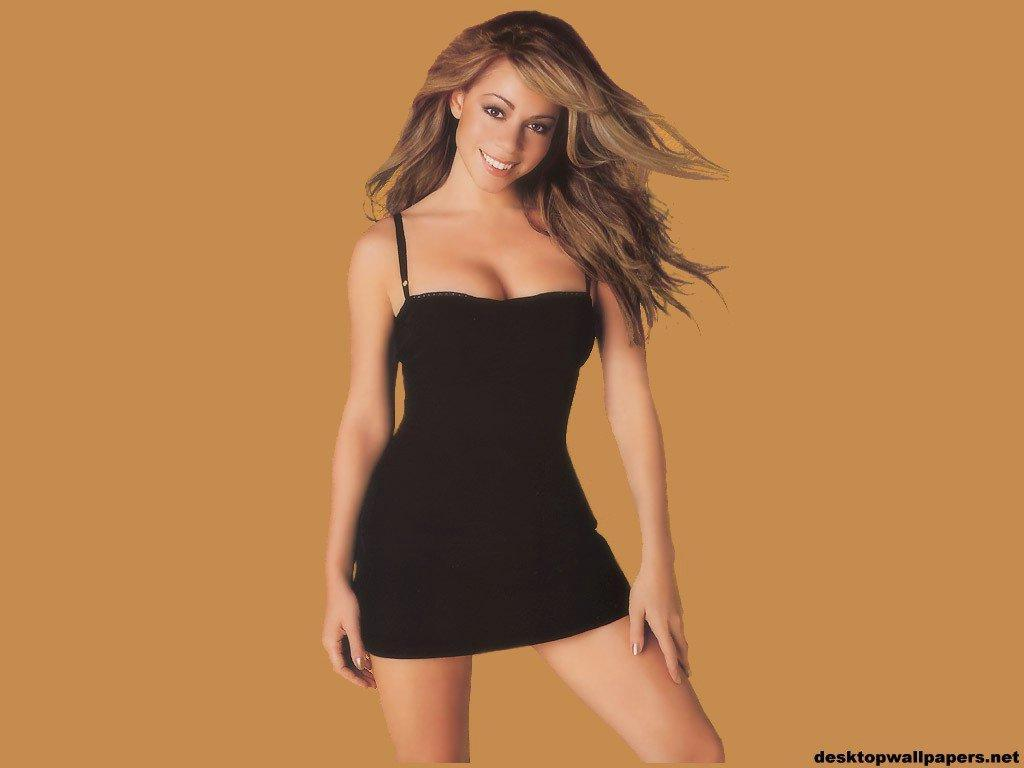 Wallpaper Mariah Carey belle fille
