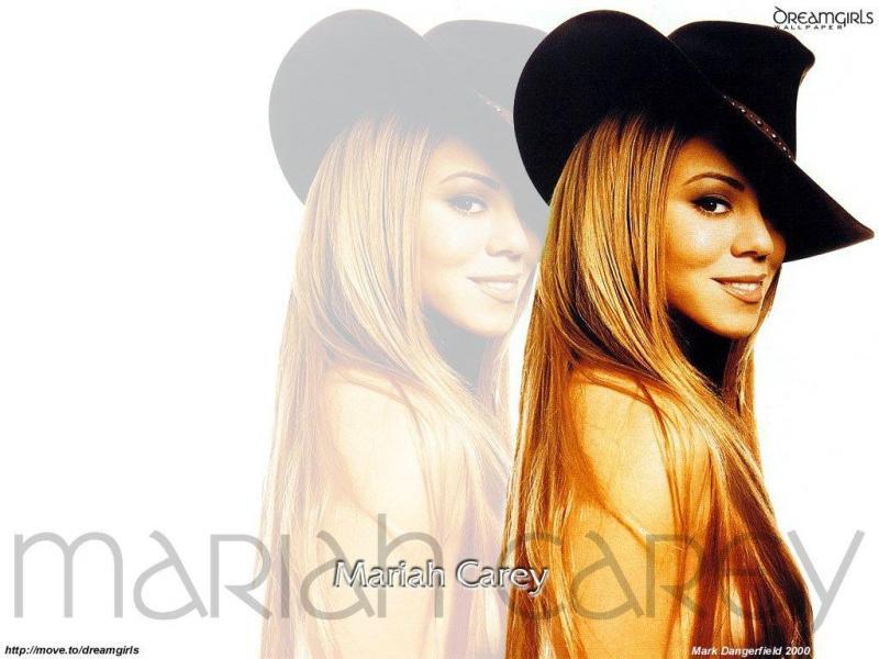 Wallpaper cow boy Mariah Carey