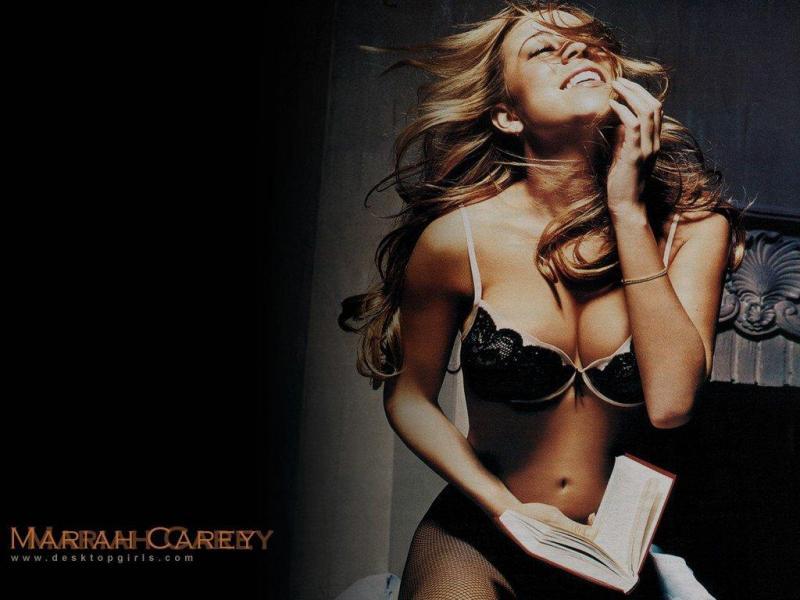 Wallpaper Mariah Carey exitation