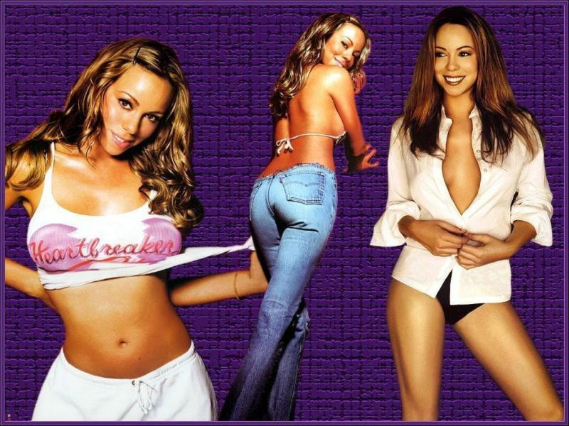Wallpaper Mariah Carey sexy