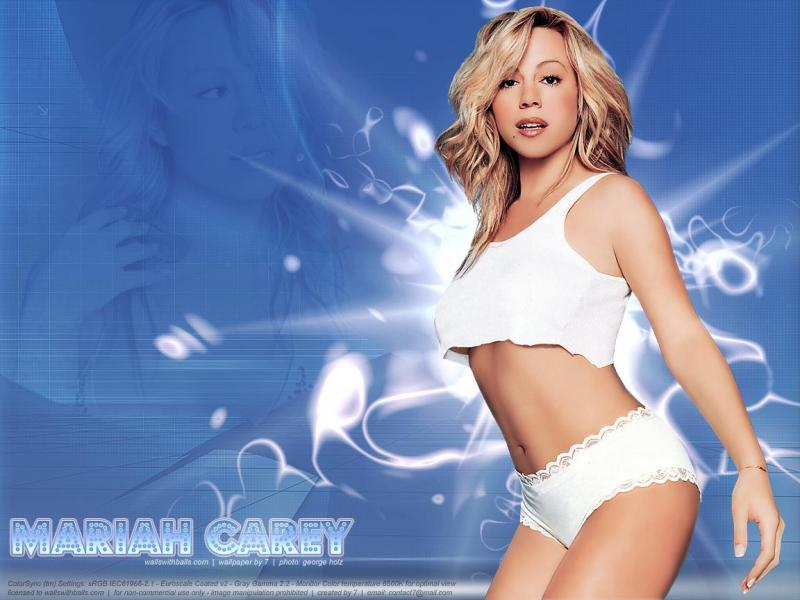 Wallpaper tenue legere Mariah Carey