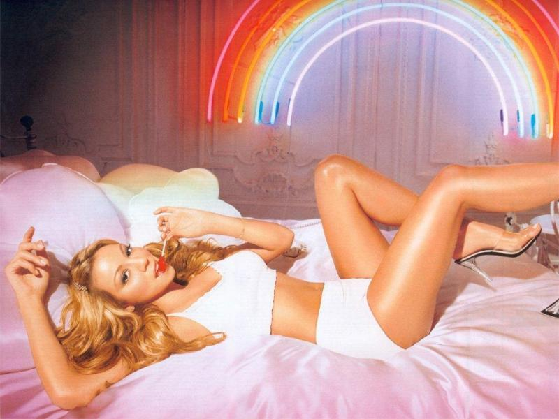 Wallpaper Mariah Carey tenue legere