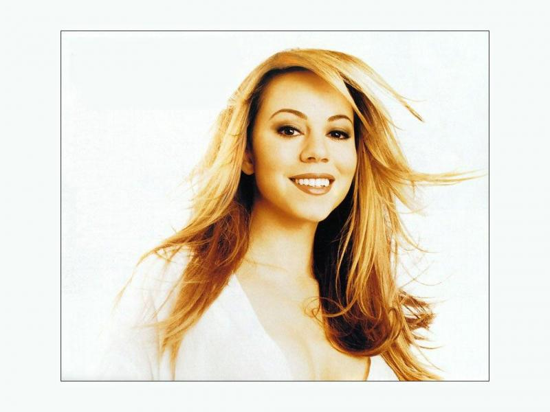 Wallpaper toujours le sourire Mariah Carey