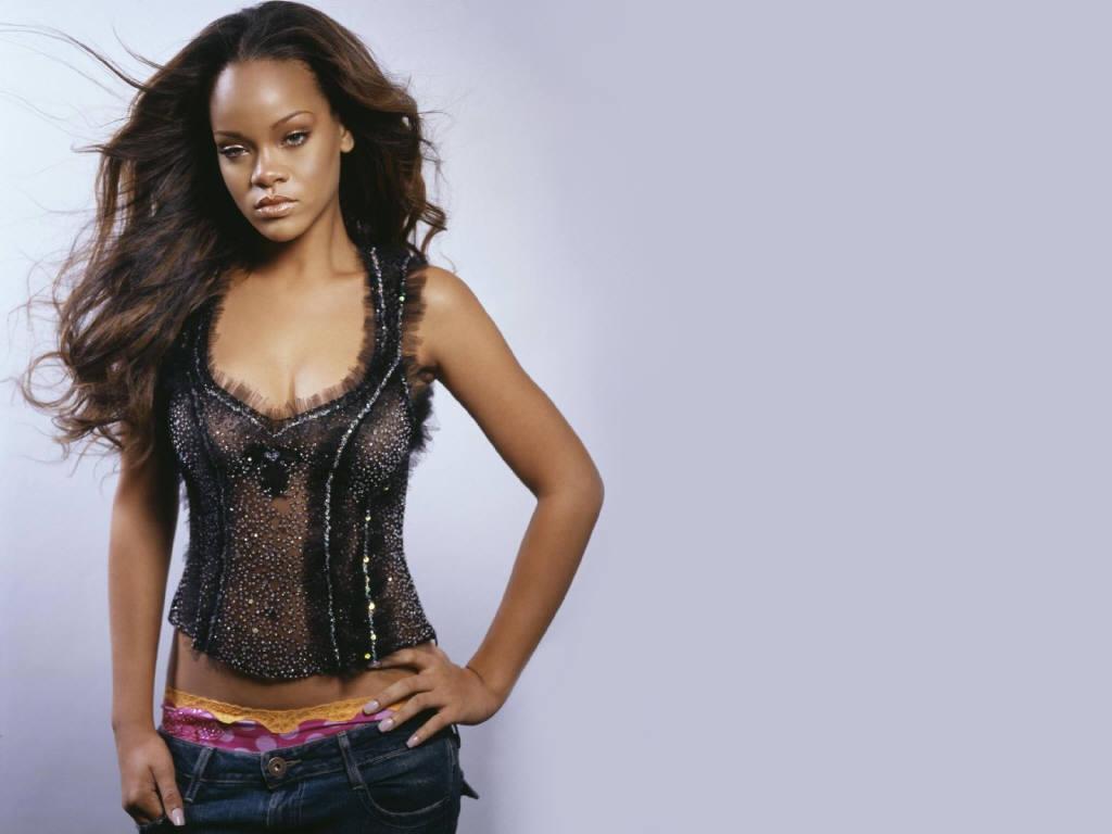 Wallpaper Rihanna Jeans coquin