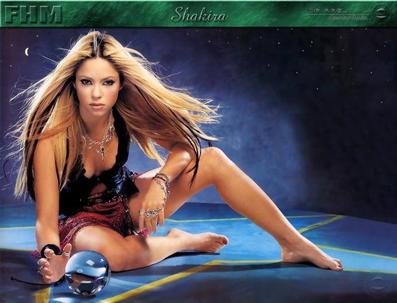 Wallpaper chanteuse Shakira
