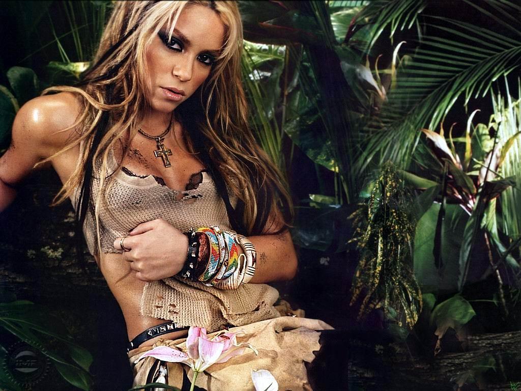 Wallpaper Shakira salle
