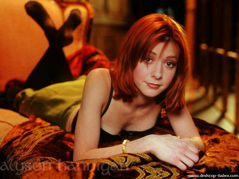 Wallpaper Alyson Hannigan chambre