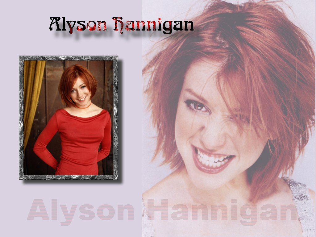 Wallpaper Alyson Hannigan la rage
