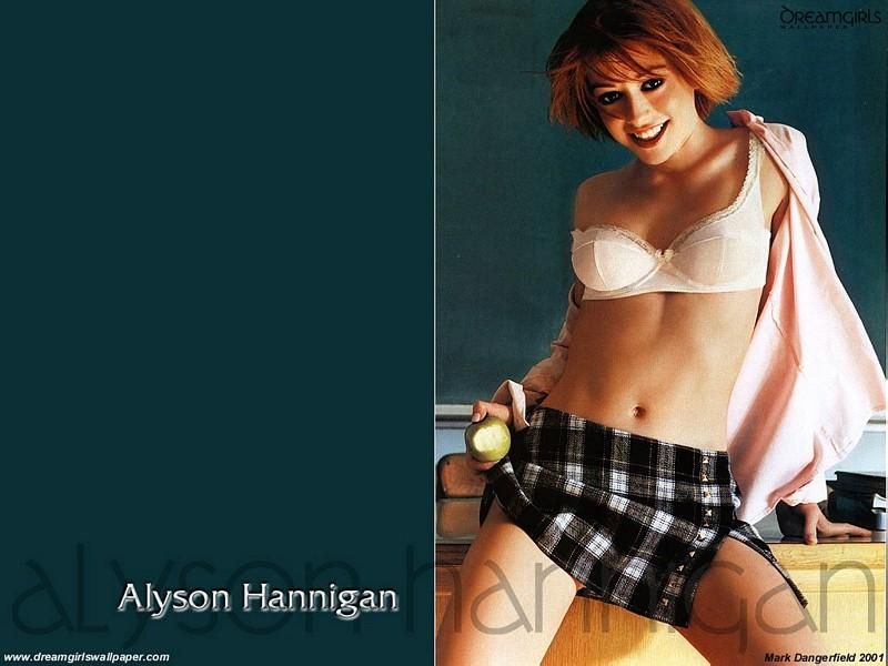 Wallpaper Alyson Hannigan lyceenne