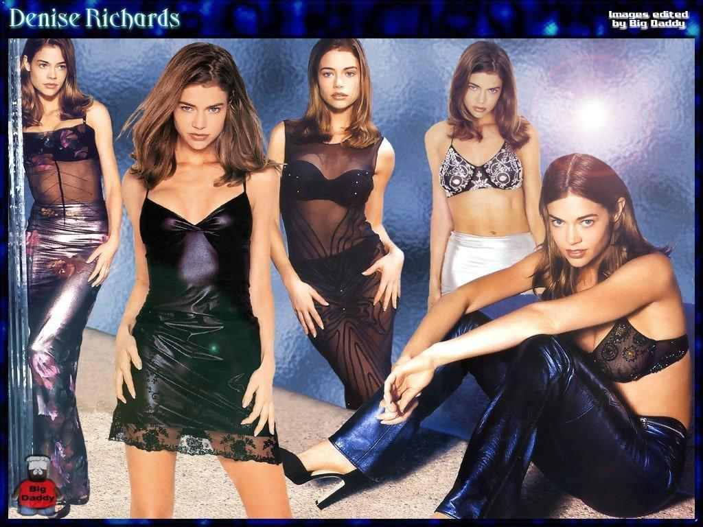 Wallpaper Denise Richards meme fille